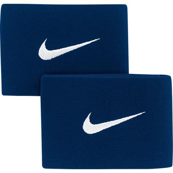 Nike Guard Stay II - fascia parastinchi da calcio - Navy/White
