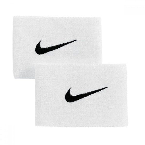 Nike Guard Stay II - fascia parastinchi da calcio - White/Black