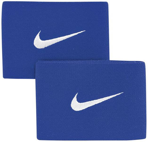 Nike Guard Stay II - fascia parastinchi da calcio - Blue/White