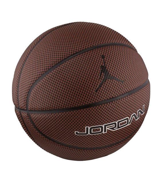 Nike Jordan Legacy 8P - pallone da basket - Brown/Black