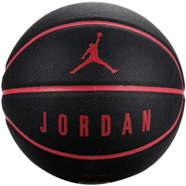 Nike Jordan Ultimate 8P - pallone da basket - Black/Red
