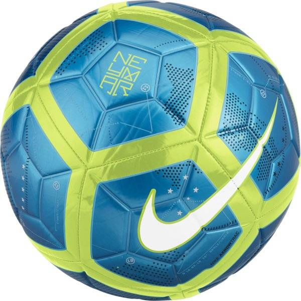 Nike Neymar Strike - pallone calcio - Blue/Green