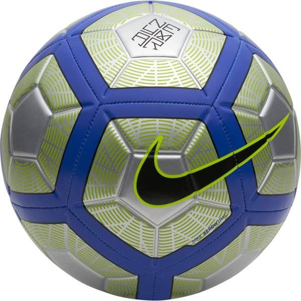 Nike Neymar Strike Football - pallone calcio - Grey/Blue