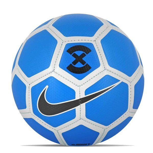 Nike Menor X - pallone calcio - Blue/White