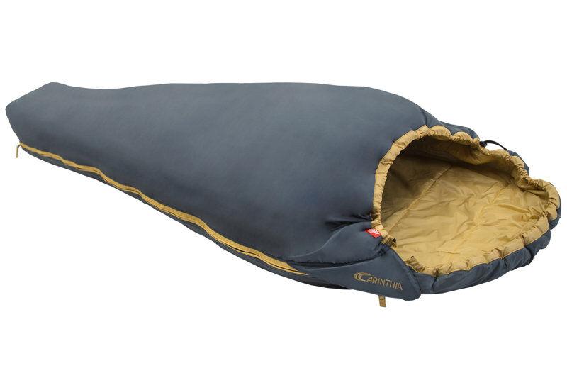 Carinthia G90 - sacco a pelo sintetico - Grey/Dark Yellow