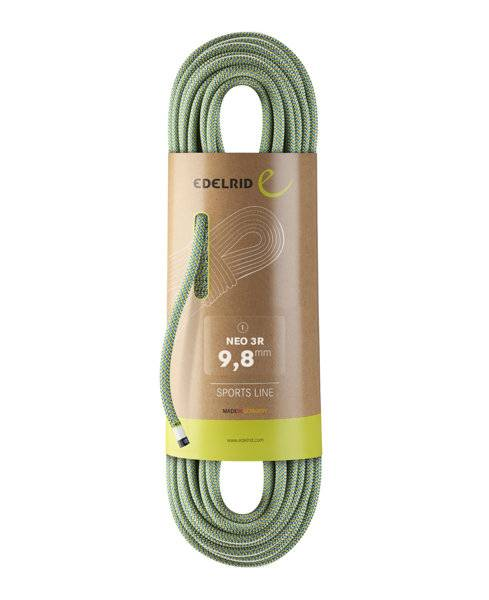 Edelrid Neo 3R 9,8 mm - corda singola - Green