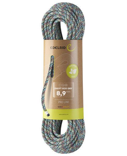 Edelrid Swift Eco Dry 8.9 - corda singola/mezza corda/corda gemella - Multicolor