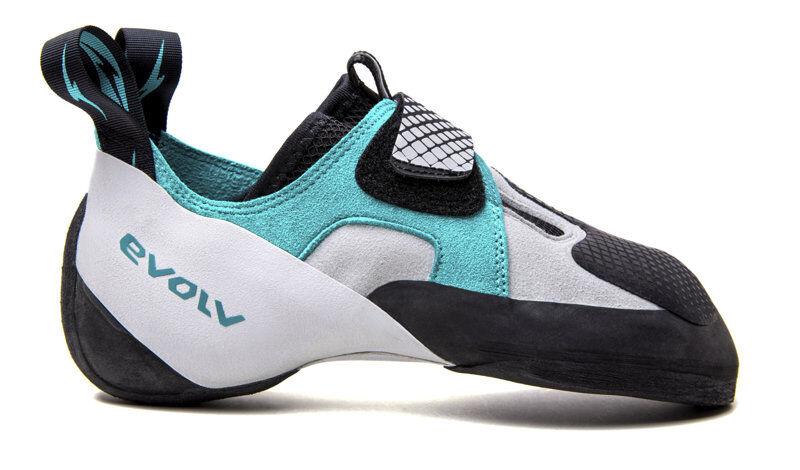 Evolv Zenist - scarpe arrampicata - donna - White/Blue/Black