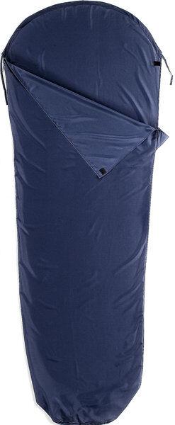Meru Inlet Microfibra Mummia - sacco letto - Dark Blue