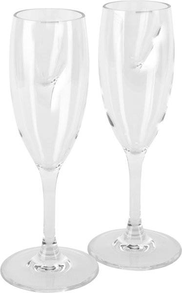 Meru Sekt Glas 250ml - bicchieri - Crystal