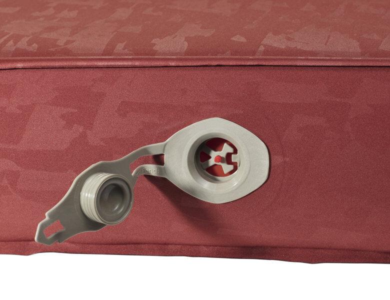 Vaude Hike 9 - materassino isolante - Red
