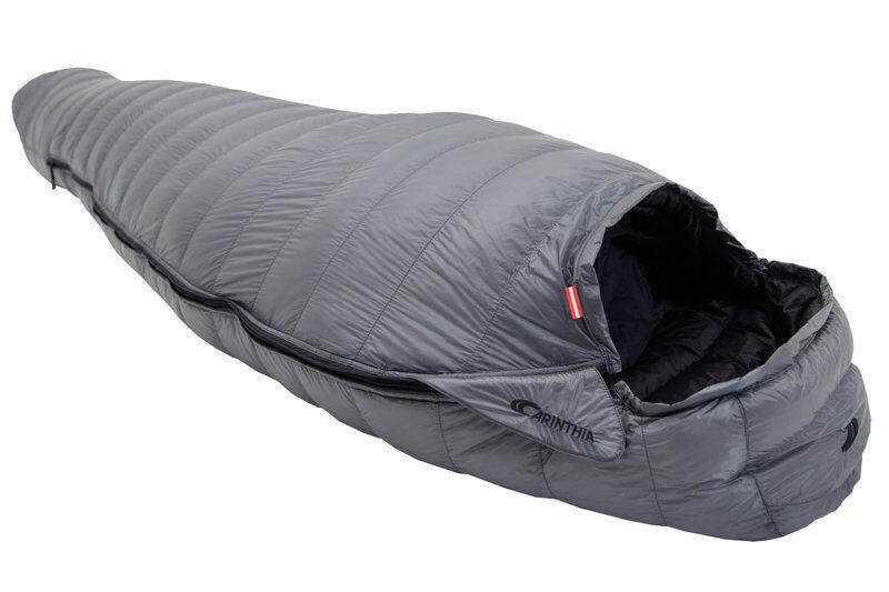 Carinthia D400 - sacco a pelo piuma - Grey/Black