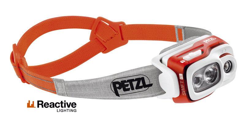 Petzl Swift RL 900 Lumen - lampada frontale - Orange