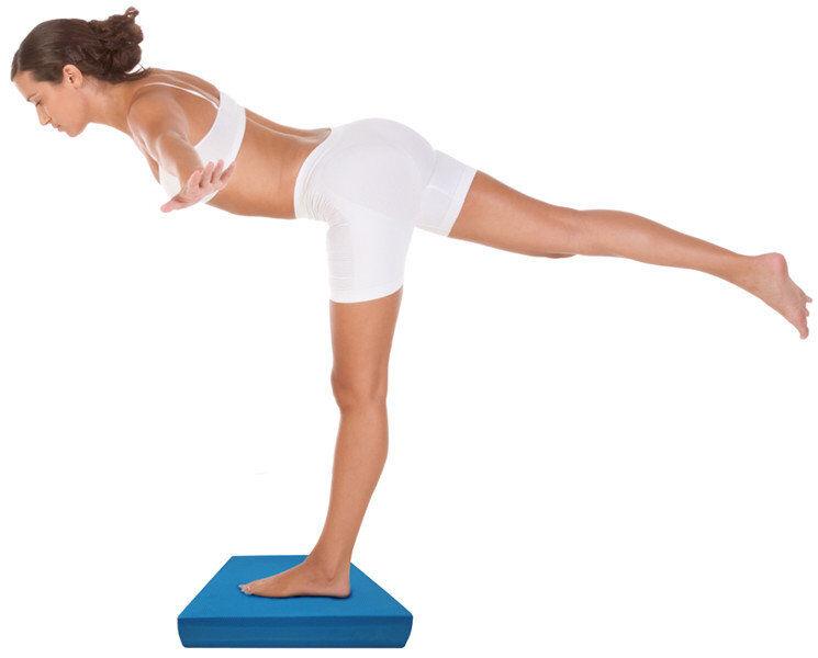 Get Fit Balance Pad - Balance Board - Blue