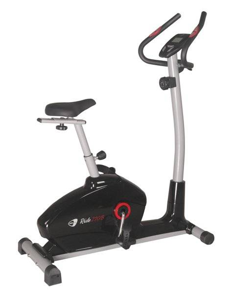 Get Fit Ride 270 - cyclette - Black
