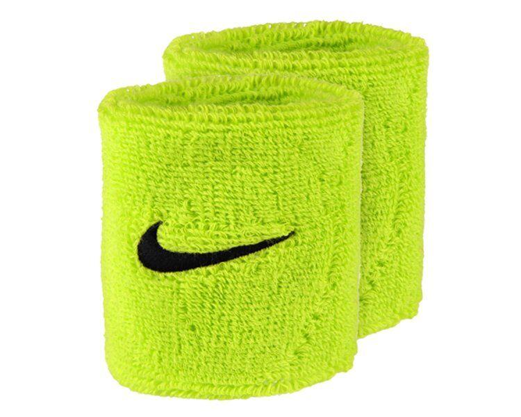 Nike Swoosh - polsini tergisudore - Green/Black