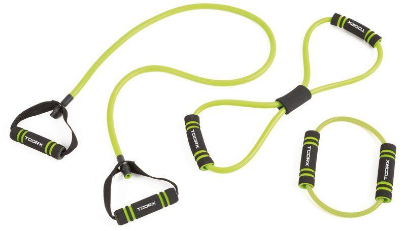 Toorx Elastic tool set - attrezzo fitness - Black