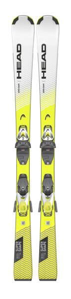 Head Supershape SLR Pro + SLR 7.5 GW - sci alpino - bambino - Black/White/Yellow