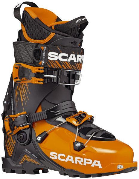 Scarpa Maestrale - scarpone sci alpinismo - Orange/Black
