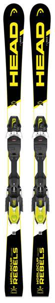 Head Worldcup Rebels i.Race + PRD12 Grip Walk - attacco sci alpino - Black/Yellow