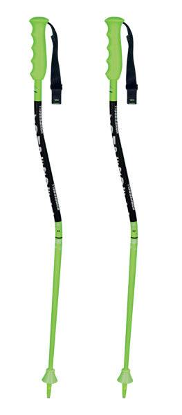 Komperdell Nationalteam Super G JR - bastoncini sci alpino - bambino - Green