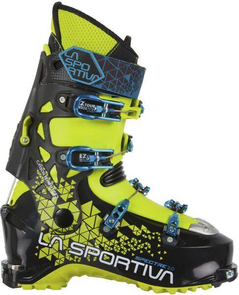 La Sportiva Spectre 2.0 - scarpone scialpinismo - uomo - Black/Lime