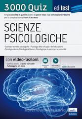 EdiTEST. Scienze psicologiche. 3000 quiz.