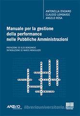 Antonella D'Adamo Manuale per la gestione