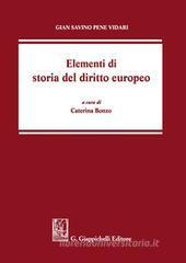 Gian Savino Pene Vidari Elementi di storia del