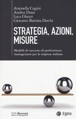 Antonella Cugini Strategia, azioni, misure.