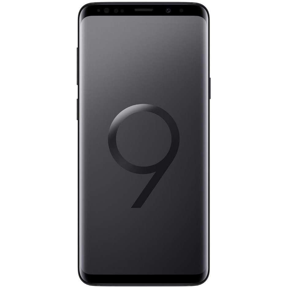 Samsung Galaxy S9 Plus Smartphone 6,2 Memoria 64 Gb Ram 6 Gb Colore Nero