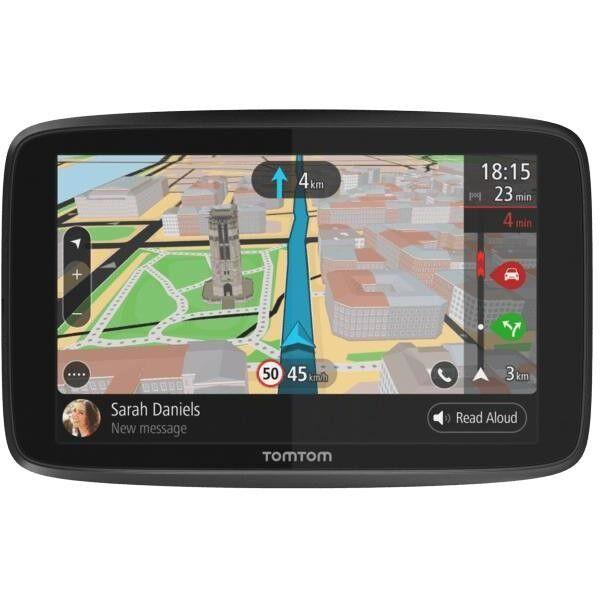 TomTom Go 6200 Tomtom Navigatore Satellitare 6 Wi-Fi Colore Nero