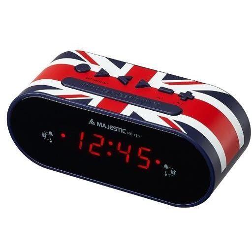 Majestic Radiosveglia Bandiera Inglese