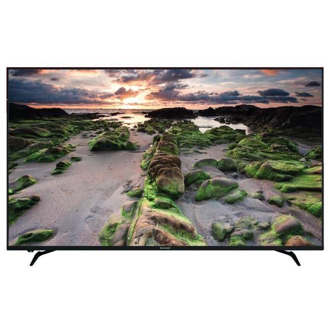 "Sharp Lc-70ui9362e Tv Led 70"" 4k Ultra Hd Hdr Smart Tv Wifi Colore Nero"