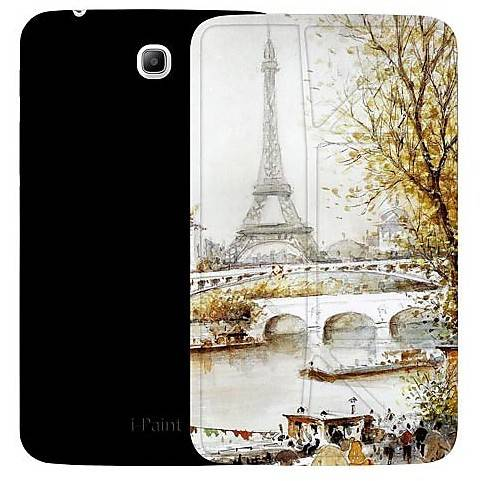 I-PAINT Custodia 190506 Ipaint Genius Case Paris Galaxy Tab 3