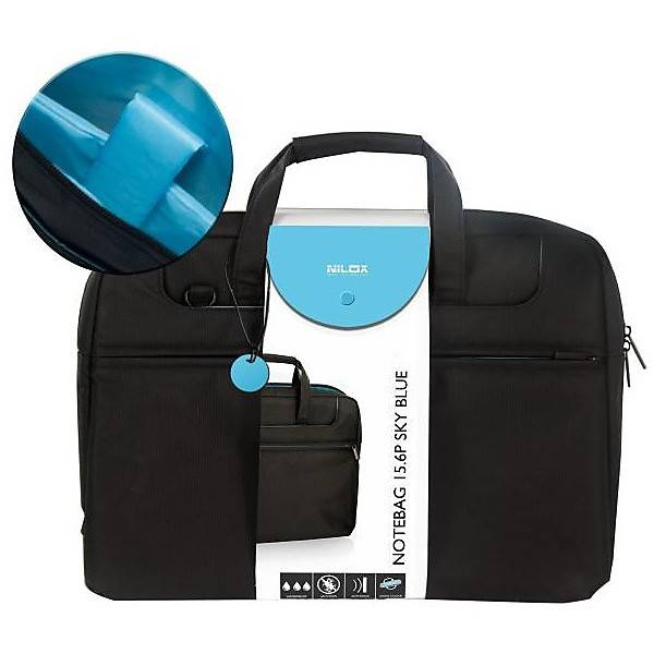 NILOX Custodia Notebag 15.6p Sky Blue Nilox