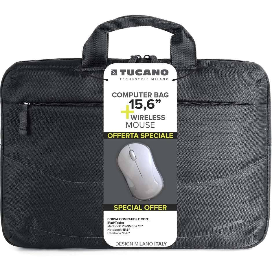 Tucano Borsa Per Nb.15.6' Idea Pc+mouse Wireless