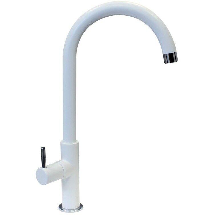 Plados Slimfix/58 Miscelatore Monocomando Con Canna Girevole 360° Colore Bianco