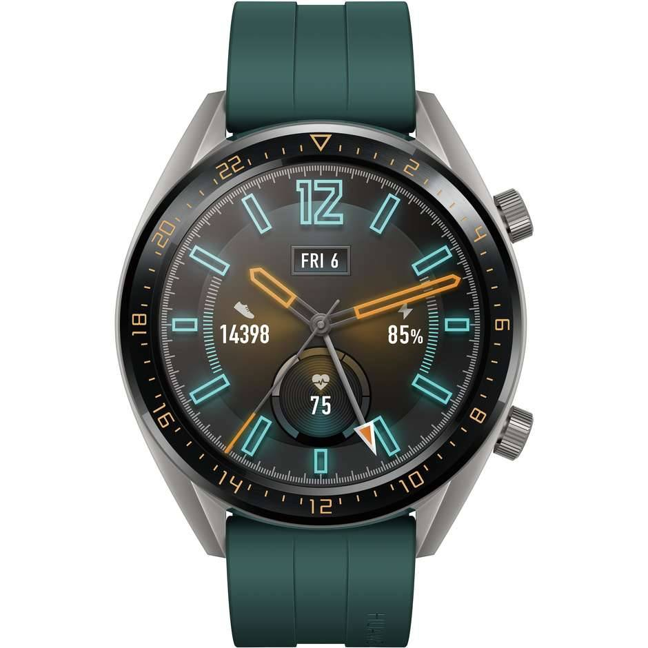 Huawei Watch Gt Active Smartwatch 1,39 Oled Bluetooth Colore Verde, Grigio