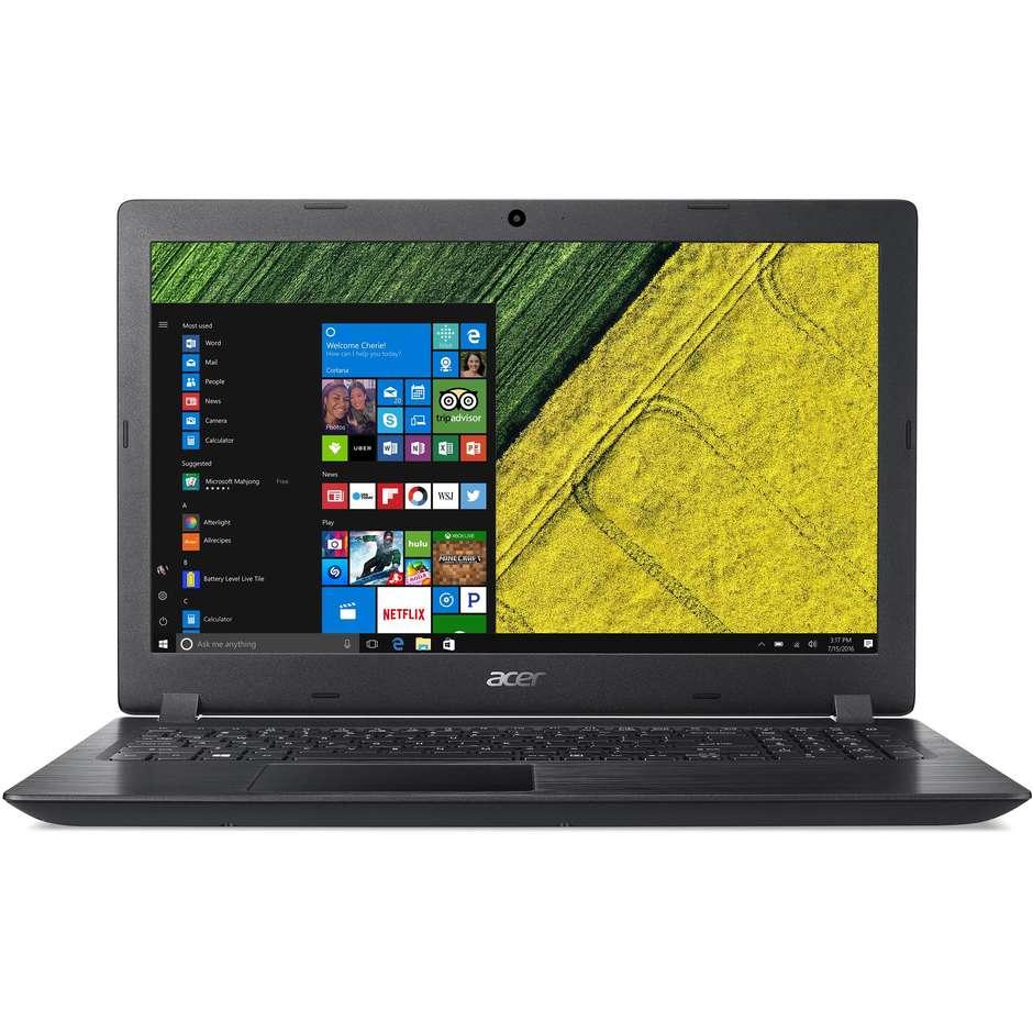 """Acer Aspire 3 A315-51-50e1 Notebook 15,6"""" Intel Core I5-7200u Ram 8 Gb Ssd 256 G"""