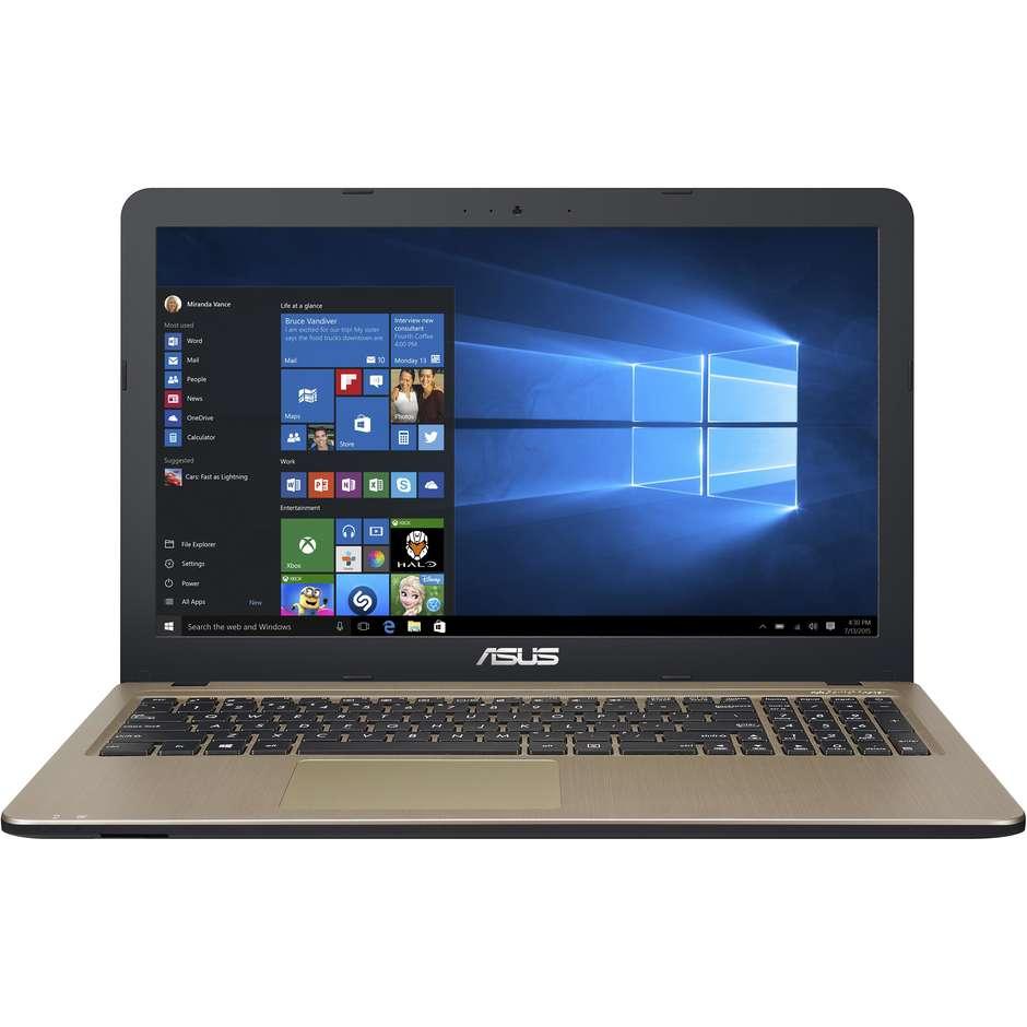"Asus Vivobook 15 X540ua-Gq901 Notebook 15.6"" Intel Core I5-8250u Ram 4 Gb Ssd 25"
