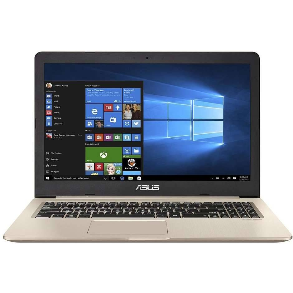 """Asus Vivobook Pro N580gd-Fy545t Notebook 15.6"""" Intel Core I7-8750h Ram 16 Gb Hdd"""