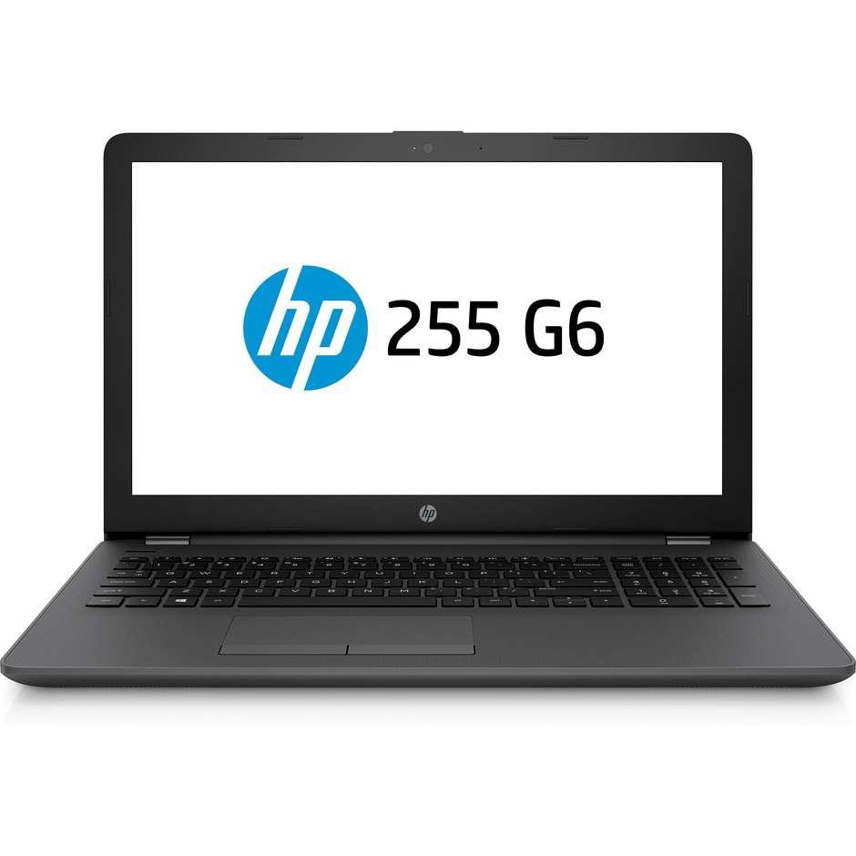 HP 255 G6 Notebook 15,6 Amd A6-9225 Ram 8 Gb Ssd 256 Gb Windows 10 Pro Colore N