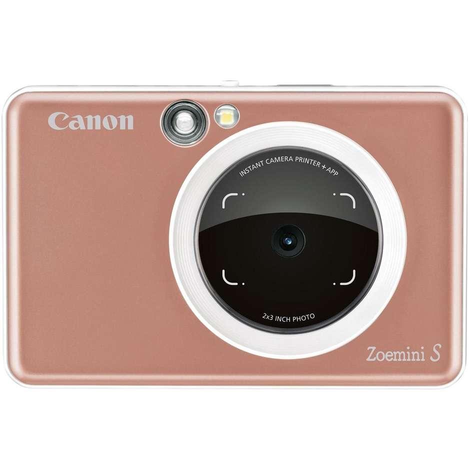 Canon Zoemini S Fotocamera Istantanea 8 Mpx Bluetooth Colore Oro Rosa