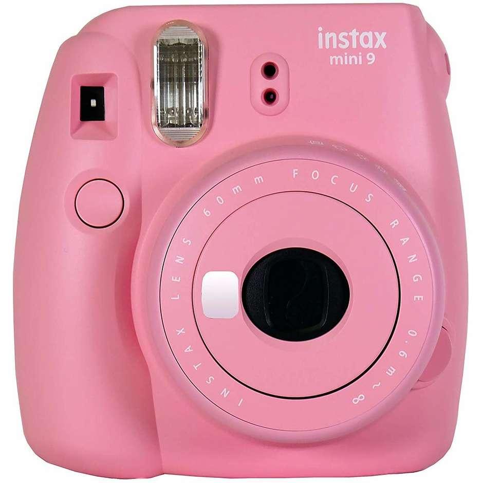 Fujifilm Instax Mini 9 Fotocamera A Stampa Istantanea Colore Blush Rose