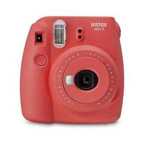 Fujifilm Instax Mini 9 Fotocamera A Stampa Istantanea Colore Rosso