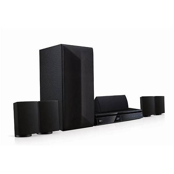 LG Lhb625 Sistema Home Cinema Bluetooth Surround 5.1 1000 W Blu-Ray 3d Colore Ne
