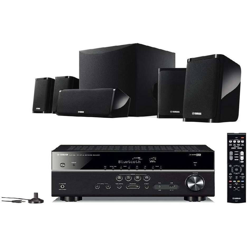 Yamaha Yht-4950 Sistema Audio Home Cinema 5.1 4k Bluetooth 115w Colore Nero