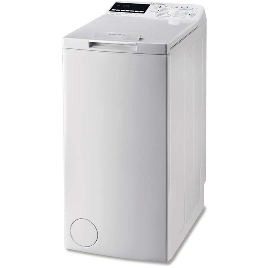 Indesit Btw E71253p (It) Lavatrice Carica Dall'Alto 7 Kg 1200 Giri Classe A+++ C