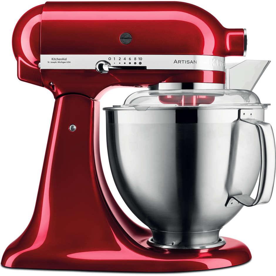 KitchenAid 5ksm185pseca Artisan Robot Da Cucina Con Corpo Motore Mobile 4,8 Lit